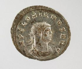 Antoninianus with bust of Florianus