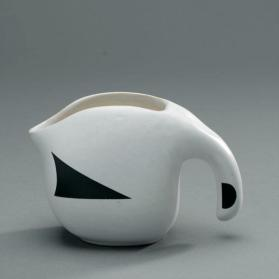 "Cream jug in ""Ptarmigan"" pattern"