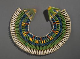 Broad collar necklace (wesekh collar)