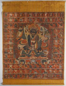Thangka of Mahakala - Legden (Excellent One)