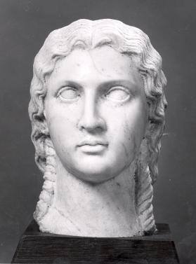 Head of a Roman woman