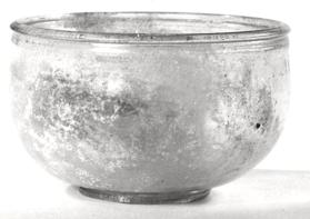 Round bellied bowl with small lip moulding