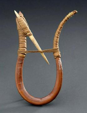 Bentwood fish hook