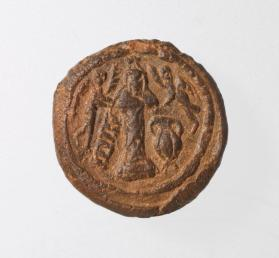 Pilgrim token of St. Symeon Stylites the Younger