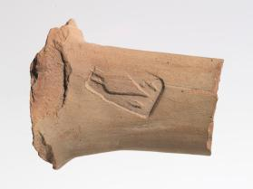 Amphora handle fragment with East Greek stamp