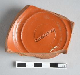 Base fragment of Samian ware cup