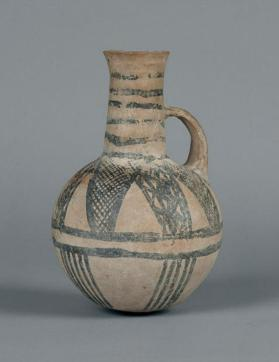 Jug of White Painted V-VI ware