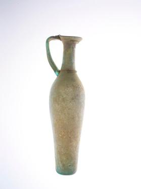 Tall handled flagon