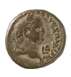 Tetradrachm with laureate bust of Vespasian