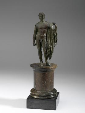 Figure of Mercury, messenger god and patron of commerce