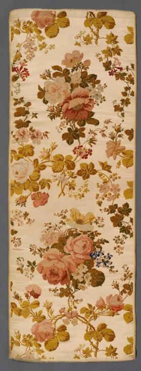 Louis XVI revival furnishing fabric