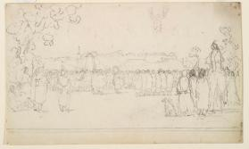 """Sioux Scalp Dance at Fort Snelling,"" Sioux"