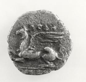 Drachm with griffin