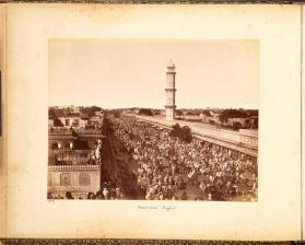 Street View Jeypur, from photograph album of Views of India