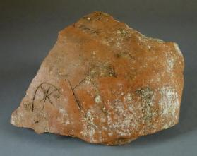 Jar fragment with Potmarks of circled star and square
