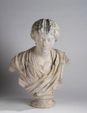 Portrait bust of Faustina the Younger