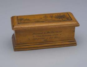 Prisoner's box from the Upper Canada Rebellion