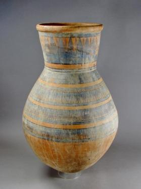Funnel-necked jar