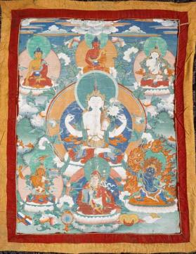 Painting of Sadaksari Avalokitesvara