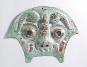 Mask part of chariot harness