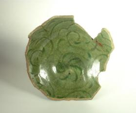 Bowl base fragment (sherd)