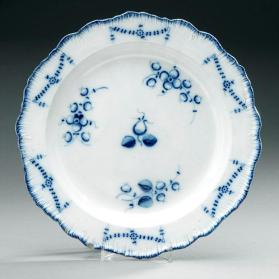 Chinese inspired plate