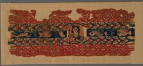 Tapestry band from the sleeve of a tunic
