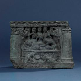 Relief with death of the Buddha
