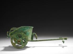 Model of a biga (chariot)