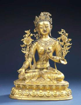 Figure of Sita Tara (White Tara)