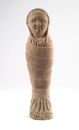 Votive effigy of a swaddled infant