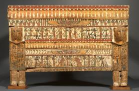 Funerary bed of Herty