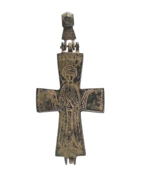 Reliquary cross with image of Mary