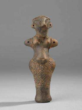 Female figure with skirt