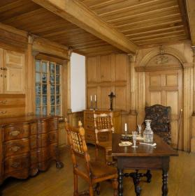 A panelled room from the Bélanger House