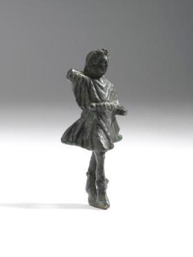 Figure of Dancing Lar (protector of the family)
