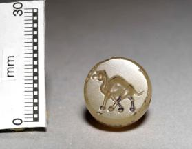 Stamp seal with image of a camel