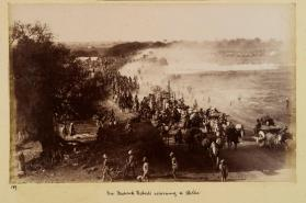 Photograph of Sir Frederick Roberts returning to Delhi