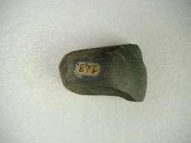 Groundstone axe