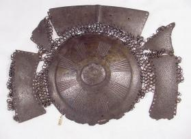 Plate armour for back