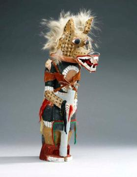 Kwewu or Wolf Kachina doll