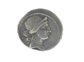 Denarius with obverse bust of Venus