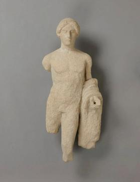 Figure of a young male votary