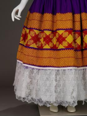 Enagua (skirt) of Tehuana gala ensemble