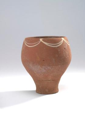 Goblet with pedestal base