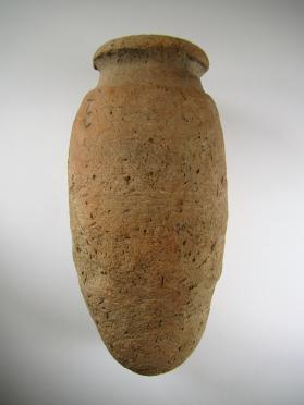 Ovoid storage jar