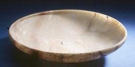 Large shallow bowl