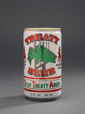 Treaty Beer can