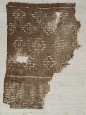 Textile fragment, probably from a mantle