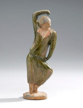 Burial figure of a foreign male dancer